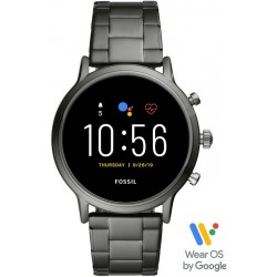 Buy Fossil Q The Carlyle HR Smartwatch Men's Watch FTW4024