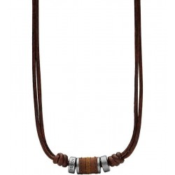 Buy Men's Fossil Necklace Vintage Casual JF00899797