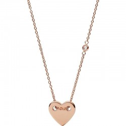 Buy Women's Fossil Necklace Classics JF02868791 Heart