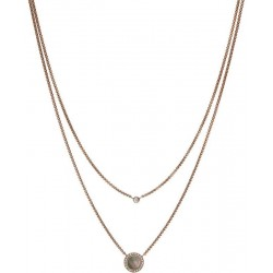 Buy Women's Fossil Necklace Classics JF02953791 Mother of Pearl