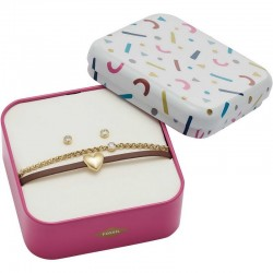 Buy Women's Fossil Bracelet + Earrings Vintage Motifs JF03050710