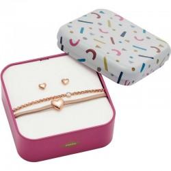 Buy Women's Fossil Bracelet + Earrings Vintage Motifs JF03051791