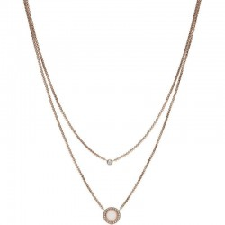 Buy Women's Fossil Necklace Classics JF03057791