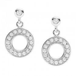 Buy Women's Fossil Earrings Sterling Silver JFS00473040