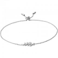 Women's Fossil Bracelet Sterling Silver JFS00484040