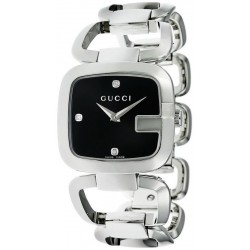 Buy Women's Gucci Watch G-Gucci Medium YA125406 Diamonds Quartz