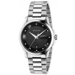 Buy Unisex Gucci Watch G-Timeless Medium YA126456 Diamonds Quartz