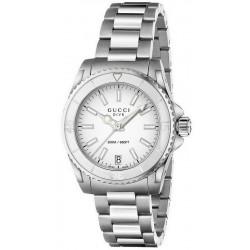 Buy Women's Gucci Watch Dive Medium YA136402 Quartz