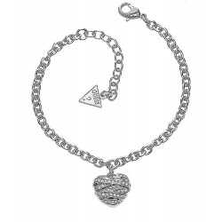 Buy Women's Guess Bracelet Fashion UBB21594-S Heart