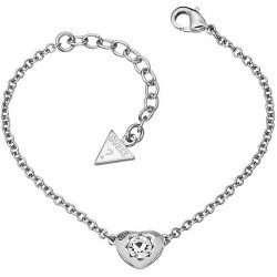 Buy Women's Guess Bracelet Crystals Of Love UBB51413 Heart