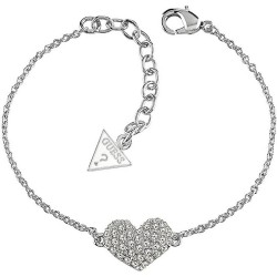 Buy Women's Guess Bracelet Basic Instinct UBB51488 Heart