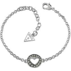 Buy Women's Guess Bracelet G Girl UBB51498 Heart