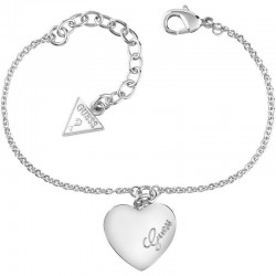 Buy Women's Guess Bracelet Heartbeat UBB61043-S Heart