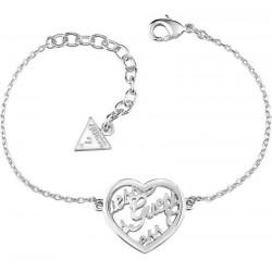 Buy Women's Guess Bracelet Guess Mania UBB61098-S Heart