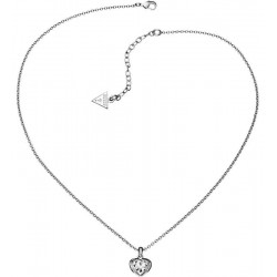 Women's Guess Necklace Crystals Of Love UBN51419 Heart