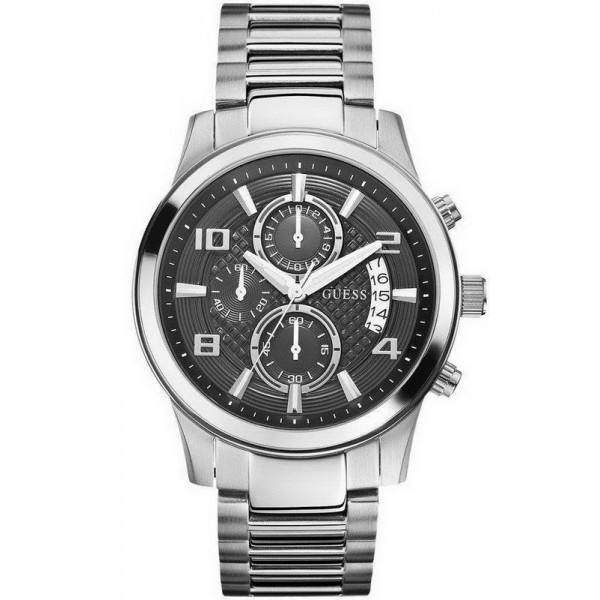Buy Men's Guess Watch Exec W0075G1 Chronograph