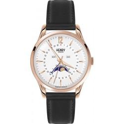 Buy Unisex Henry London Watch Richmond HL39-LS-0150 Moonphase Quartz