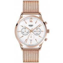 Buy Unisex Henry London Watch Richmond HL41-CM-0040 Quartz Chronograph