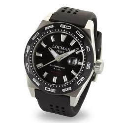 Men's Locman Watch Stealth 300MT Automatic 0215V1-0KBKNKS2K
