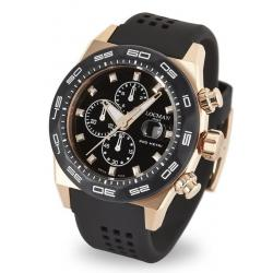Men's Locman Watch Stealth 300MT Quartz Chronograph 0217V5-RKBK5NS2K