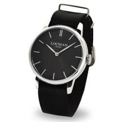 Buy Men's Locman Watch 1960 Quartz 0251V01-00BKNKNK