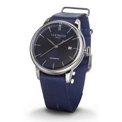 Buy Men's Locman Watch 1960 Automatic 0255A02A-00BLNKNB