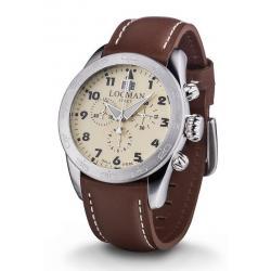 Buy Men's Locman Watch Isola d'Elba Quartz Chronograph 0460A04-00AVBKPN