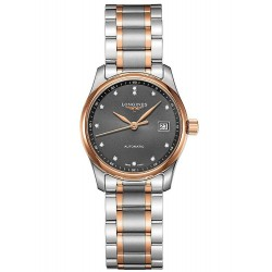Buy Women's Longines Watch Master Collection Steel & Gold L22575077 Diamonds Automatic