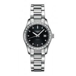 Buy Women's Longines Watch Conquest Classic L22850576 Diamonds Automatic
