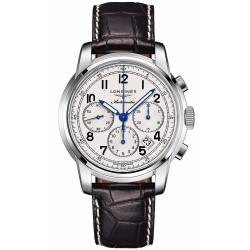 Buy Men's Longines Watch Saint-Imier L27844730 Automatic Chronograph