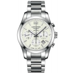 Buy Men's Longines Watch Conquest Classic L27864766 Automatic Chronograph