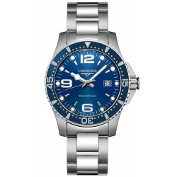 Buy Men's Longines Watch Hydroconquest L36404966 Quartz