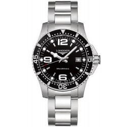 Buy Men's Longines Watch Hydroconquest L37404566 Quartz