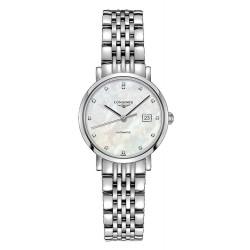 Buy Women's Longines Watch Elegant Collection L43104876 Diamonds Automatic