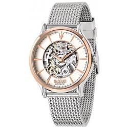 Buy Men's Maserati Watch Traguardo R8823118001 Automatic