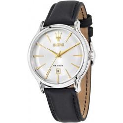 Buy Men's Maserati Watch Epoca R8851118002 Quartz