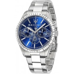 Buy Men's Maserati Watch Competizione R8853100009 Quartz Multifunction