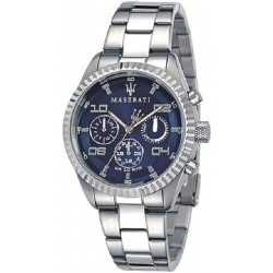 Buy Men's Maserati Watch Competizione R8853100011 Quartz Multifunction