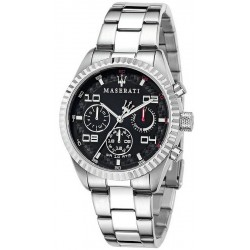 Men's Maserati Watch Competizione R8853100012 Quartz Multifunction