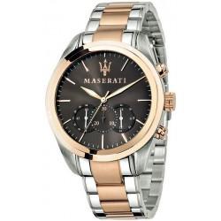 Buy Men's Maserati Watch Traguardo R8873612003 Quartz Chronograph