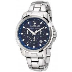 Buy Men's Maserati Watch Successo R8873621002 Quartz Chronograph