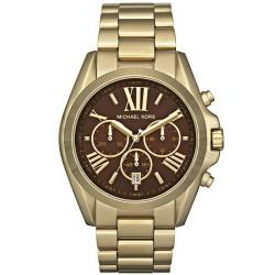Buy Unisex Michael Kors Watch Bradshaw MK5502 Chronograph