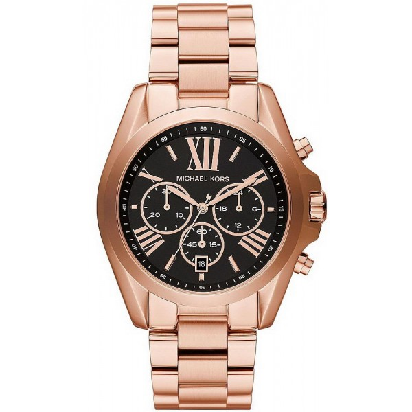 Buy Unisex Michael Kors Watch Bradshaw MK5854 Chronograph