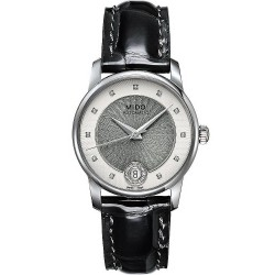 Buy Women's Mido Watch Baroncelli II M0072071603601 Diamonds Automatic