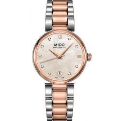 Buy Women's Mido Watch Baroncelli II M0222072211610 Diamonds Automatic