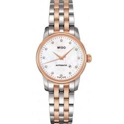 Buy Women's Mido Watch Baroncelli II M76009691 Diamonds Mother of Pearl Automatic