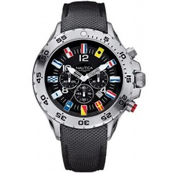 Men's Nautica Watch NST Flag A24520G Chronograph