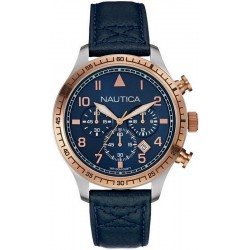 Men's Nautica Watch BFD 105 NAI17500G Chronograph
