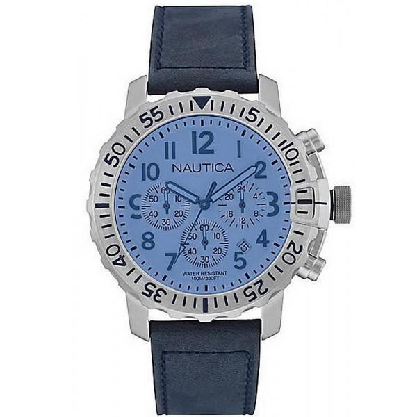 Buy Men's Nautica Watch NMS 01 USS NAI19534G Chronograph