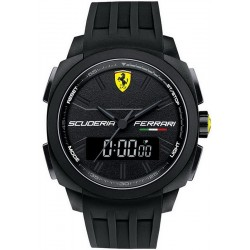 Buy Men's Scuderia Ferrari Watch Aerodinamico Chrono 0830122